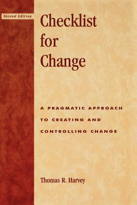 Checklist for Change By Harvey, Thomas R.